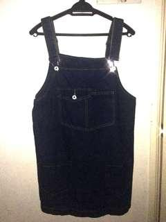 Jeans Dress - adjustable straps