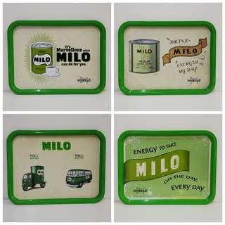 Milo Metal Tray Complete Set Collection