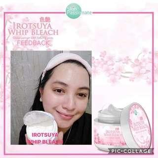 Irotsuya Whip Bleaching Cream