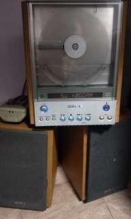 Fast deal(28)Sony small HiFi system