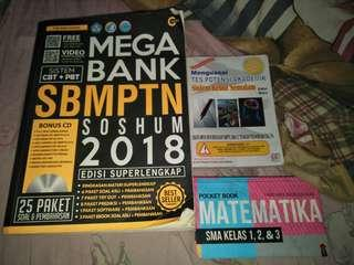 TAKE ALL BUKU SBMPTN, SKS TPA, POCKET BOOK MTK