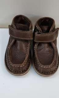 Baby Shoes (Timberland brown leather shoes )