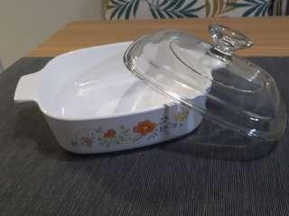 Urgent sale: 17cm Shallow Casserole with Glass Lid