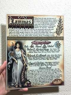 Lammas art piece Wicca