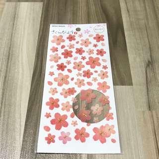 🚚 🌟BN INSTOCKS Pretty Pink Flower Petals Stickers Pack (V6)