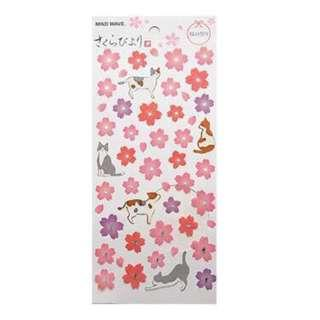 🚚 🌟BN INSTOCKS Pretty Pink Flower Petals Stickers Pack (V5)