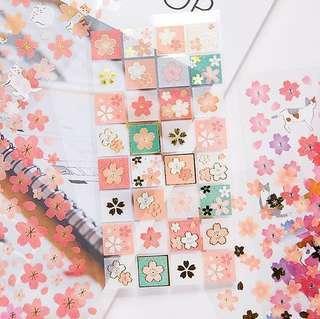 🚚 🌟BN INSTOCKS Pretty Pink Flower Petals Stickers Pack (V2)