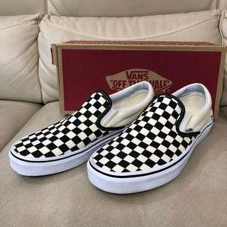 Vans Checkerboard Slip On US9.5