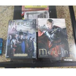 collection DVD merlin dvd season 1 4pcs DVD