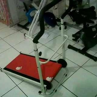 Treadmill 1 fungsi manual mini best seller