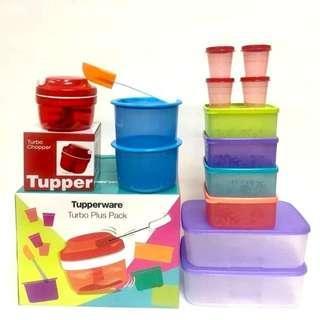 Tupperware Turbo Plus Pack