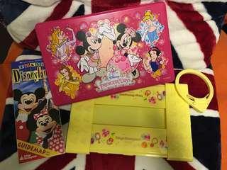 絕版 2007年 迪士尼樂園 米奇老鼠 膠餐盒 Tokyo Disneyland Micky Mouse Lunch Box (順豐到付)