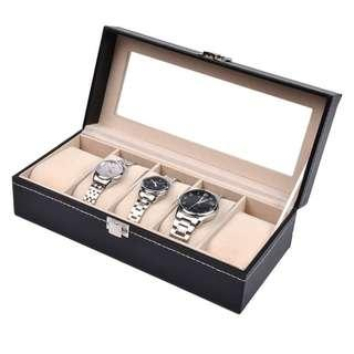 4 / 5 / 6 / 10 Slot Watch Display Storage Box