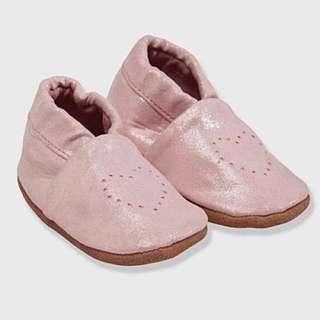 法國 Vertbaudet 真皮BB 爬行鞋 / 學步鞋