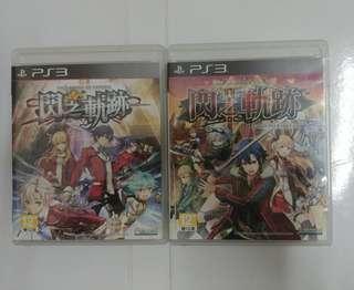 PS3 閃之軌跡1+2 中文版
