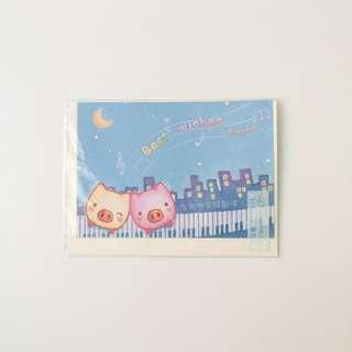 🚚 全新/ 小豬仔 友誼 卡片 萬用卡片