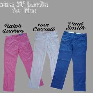 """Pants for men bundle 31"""""""