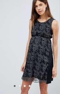 Asos Mamalicious printed dress