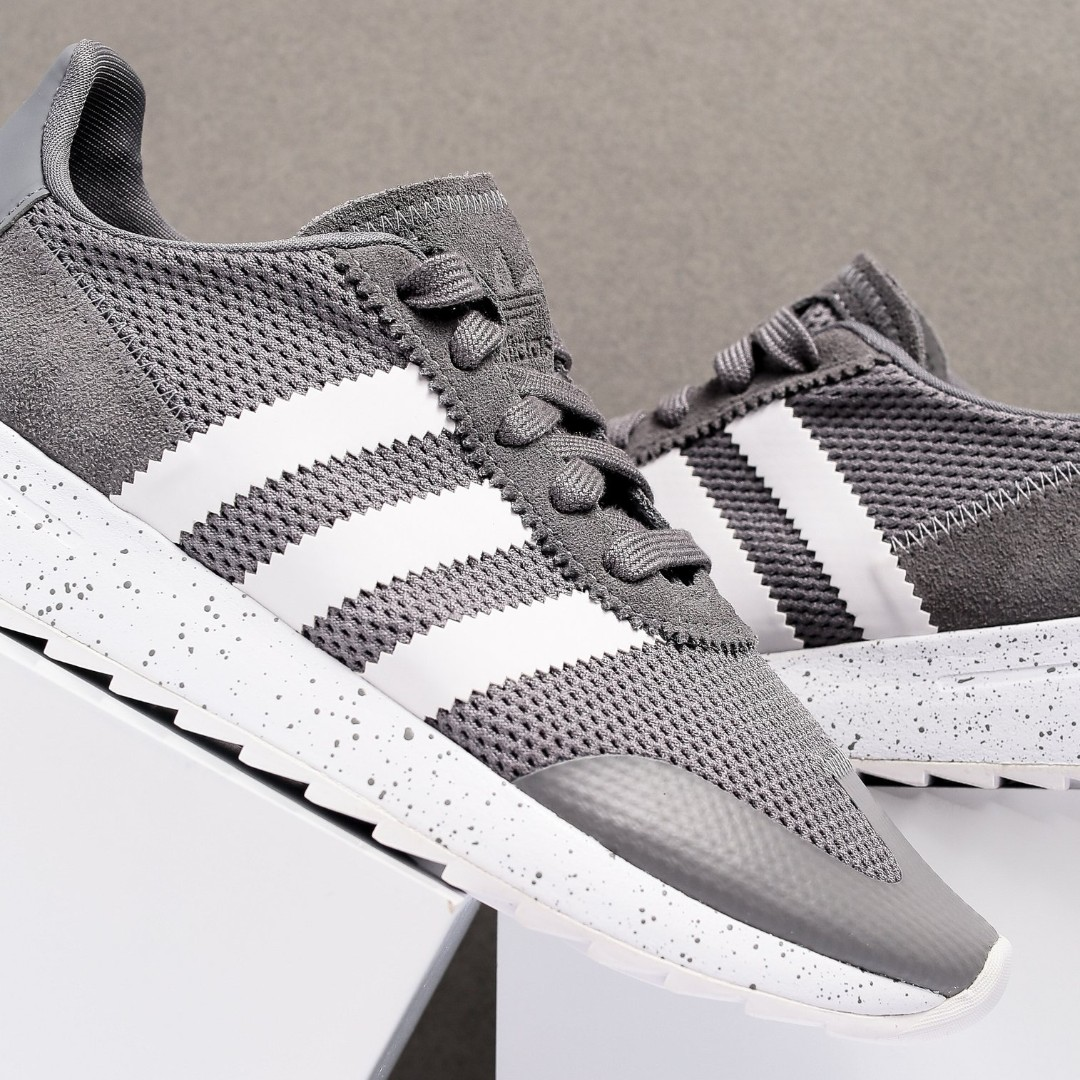 superior quality hot-selling real new selection (us 5/ eur 36) Adidas FLB Runner Creepers Originals Women Sports Shoe in  Grey White
