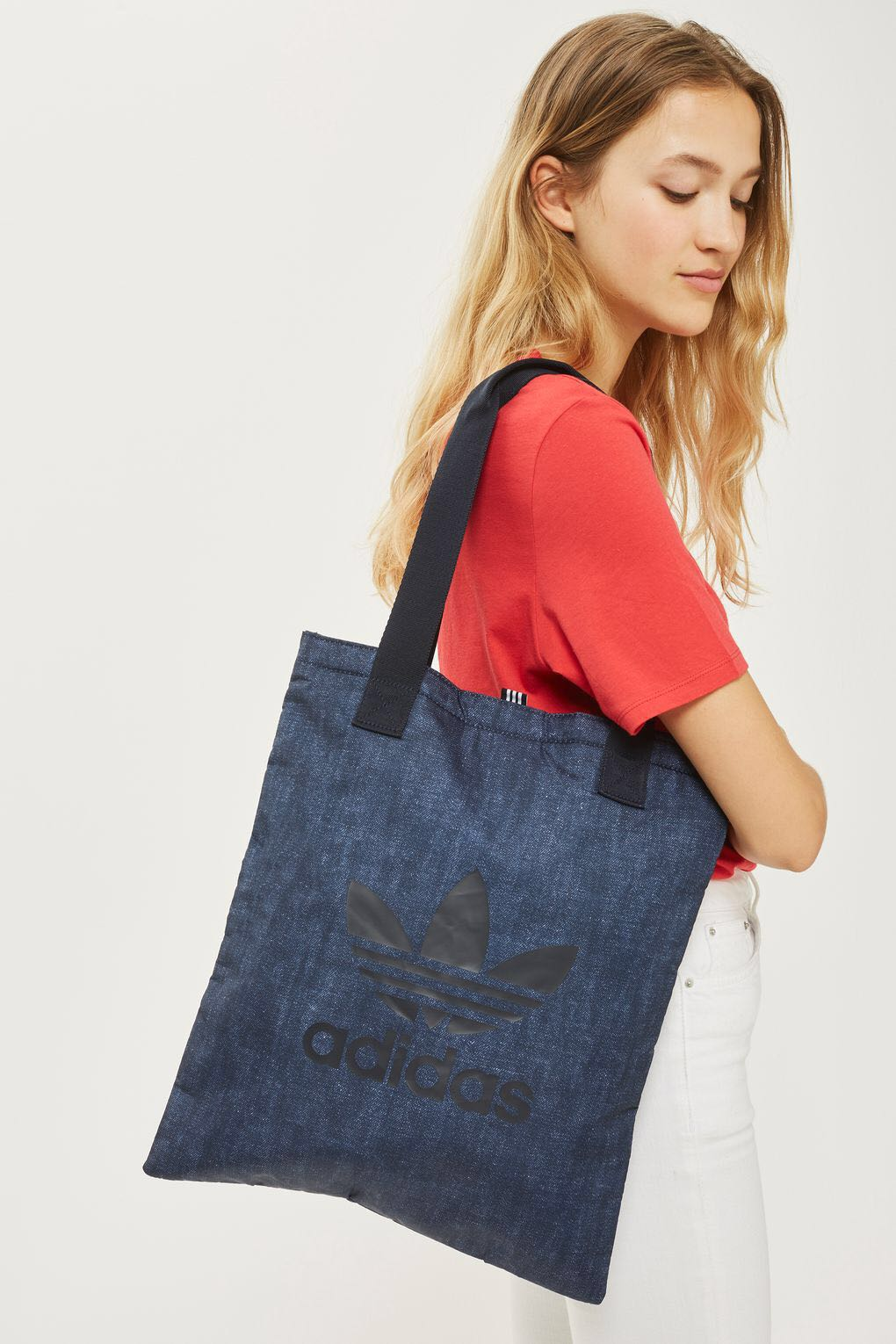 Adidas Originals Tote Bag Denim 18225185127d2
