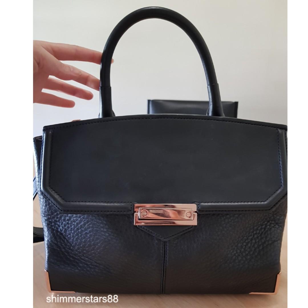 Alexander Wang Large Marion Black Leather Bag RRP $1225
