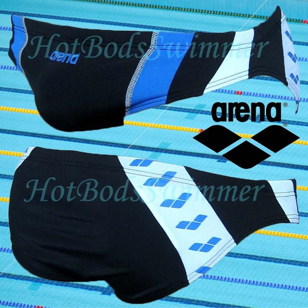 3e0b8c08cefbc Arena AST13121BK Men's Competition Swimwear (Swimming Trunks ...