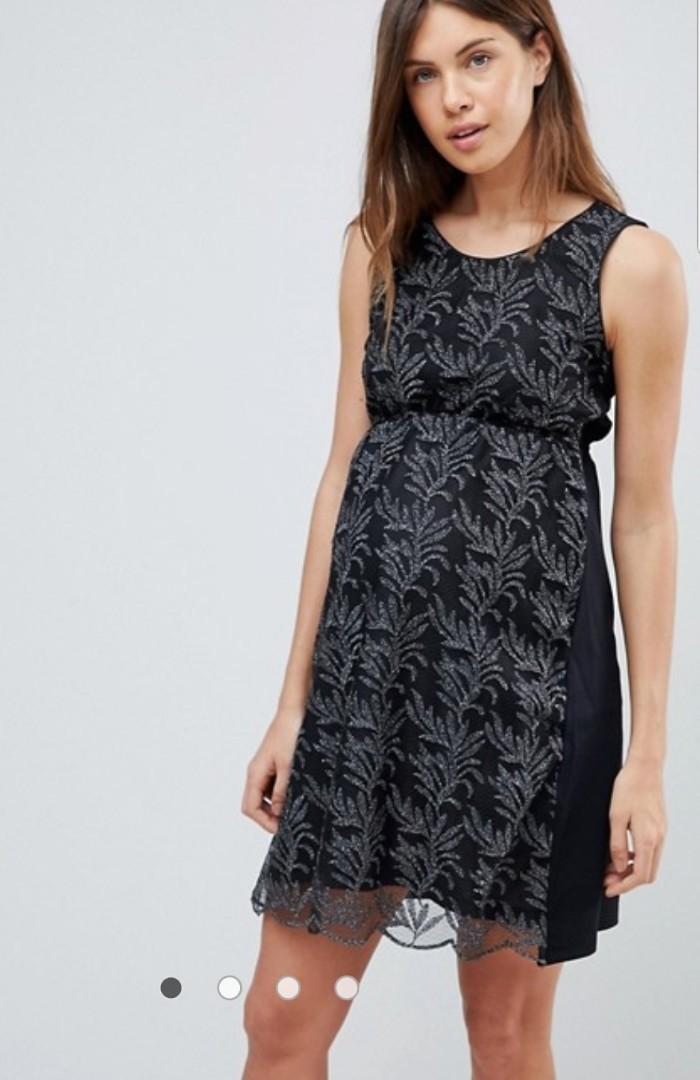 e62ea5189a737 Asos Mamalicious printed dress, Women's Fashion, Clothes, Dresses ...