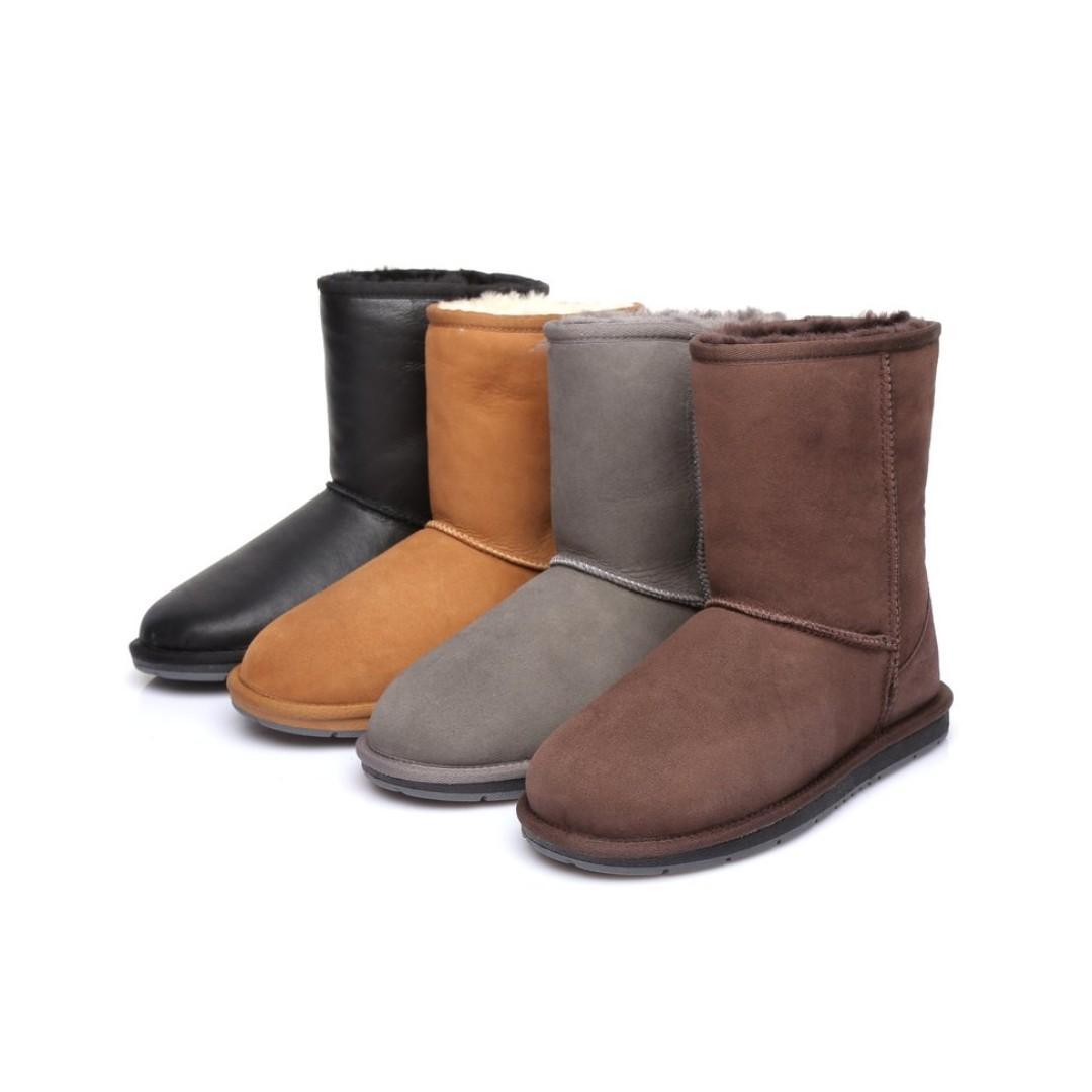 Australian Shepherd Water Resistant Unisex Short Classic UGG Boots