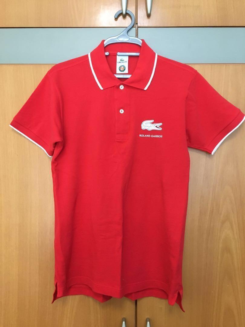 1c3ba64d AUTHENTIC Lacoste Polo Roland Garros, Men's Fashion, Clothes, Tops ...