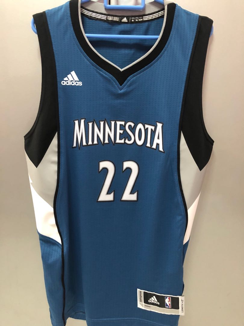 the latest 74e03 25f64 Authentic Minnesota NBA Jersey