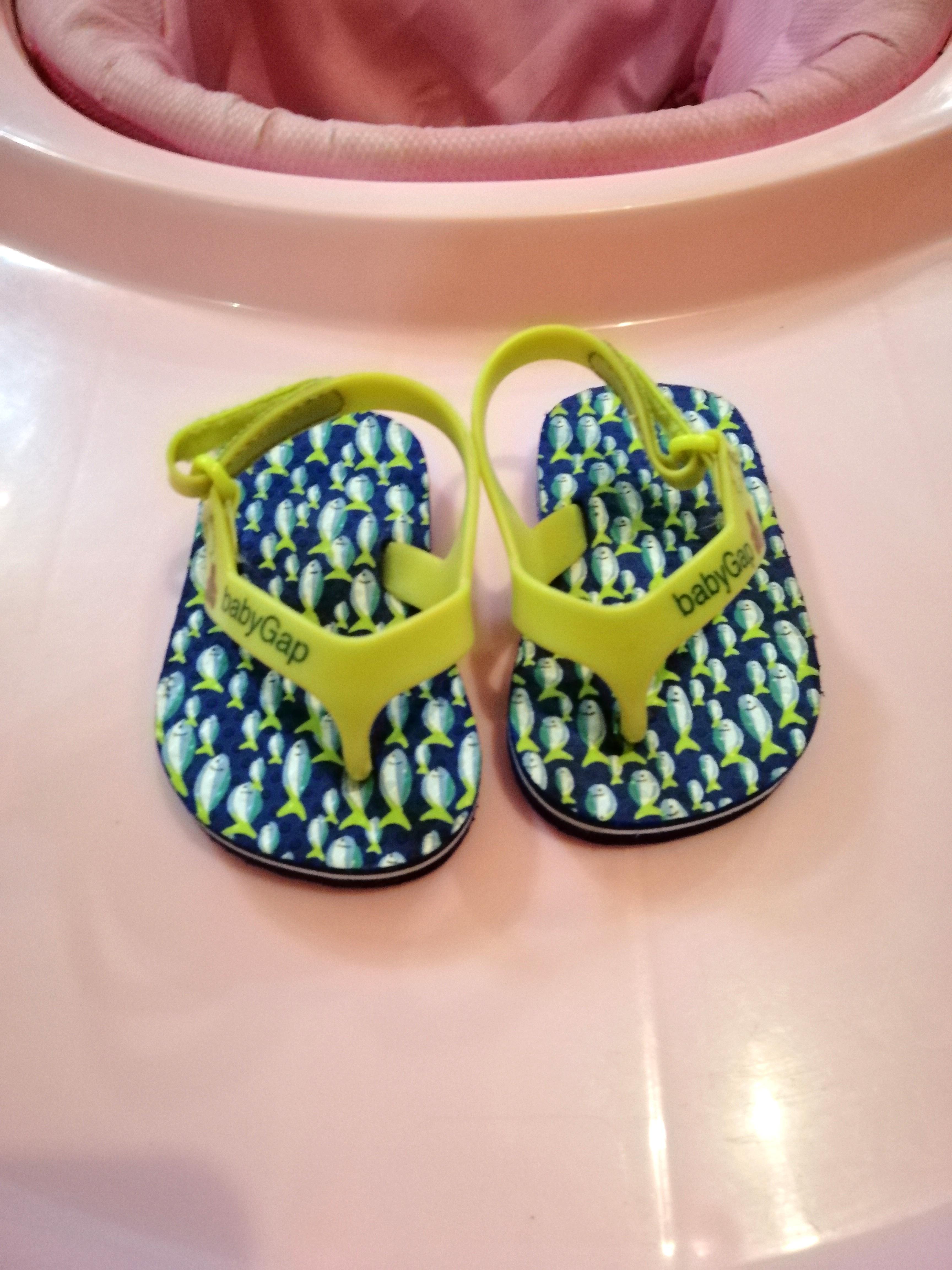 Baby Gap Slippers Sandals Unisex Girls