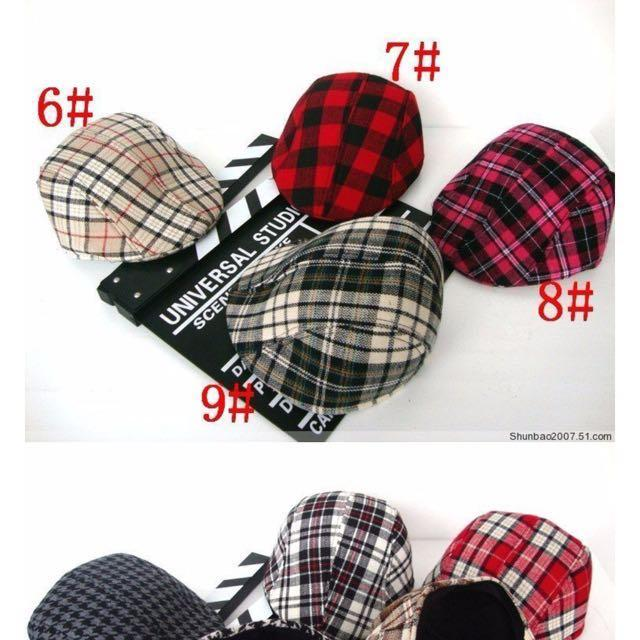 Classical England Style newsboy caps Boy beret hat Baby