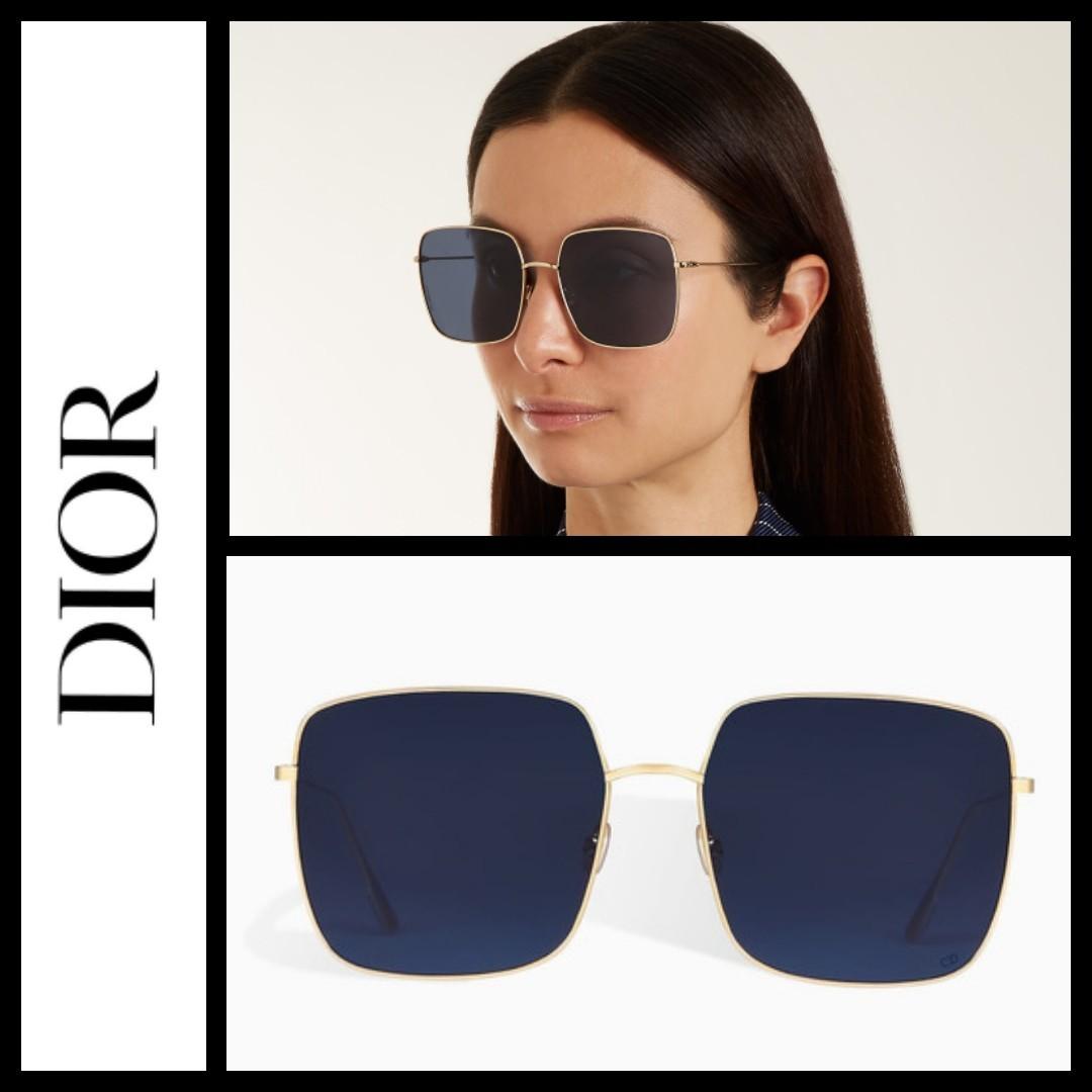c041501705e0 Dior Stellaire 01 square metallic sunglasses, Women's Fashion ...