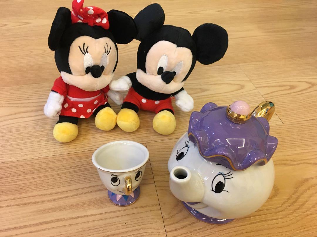 Disney Mr Potts sets by kato koge