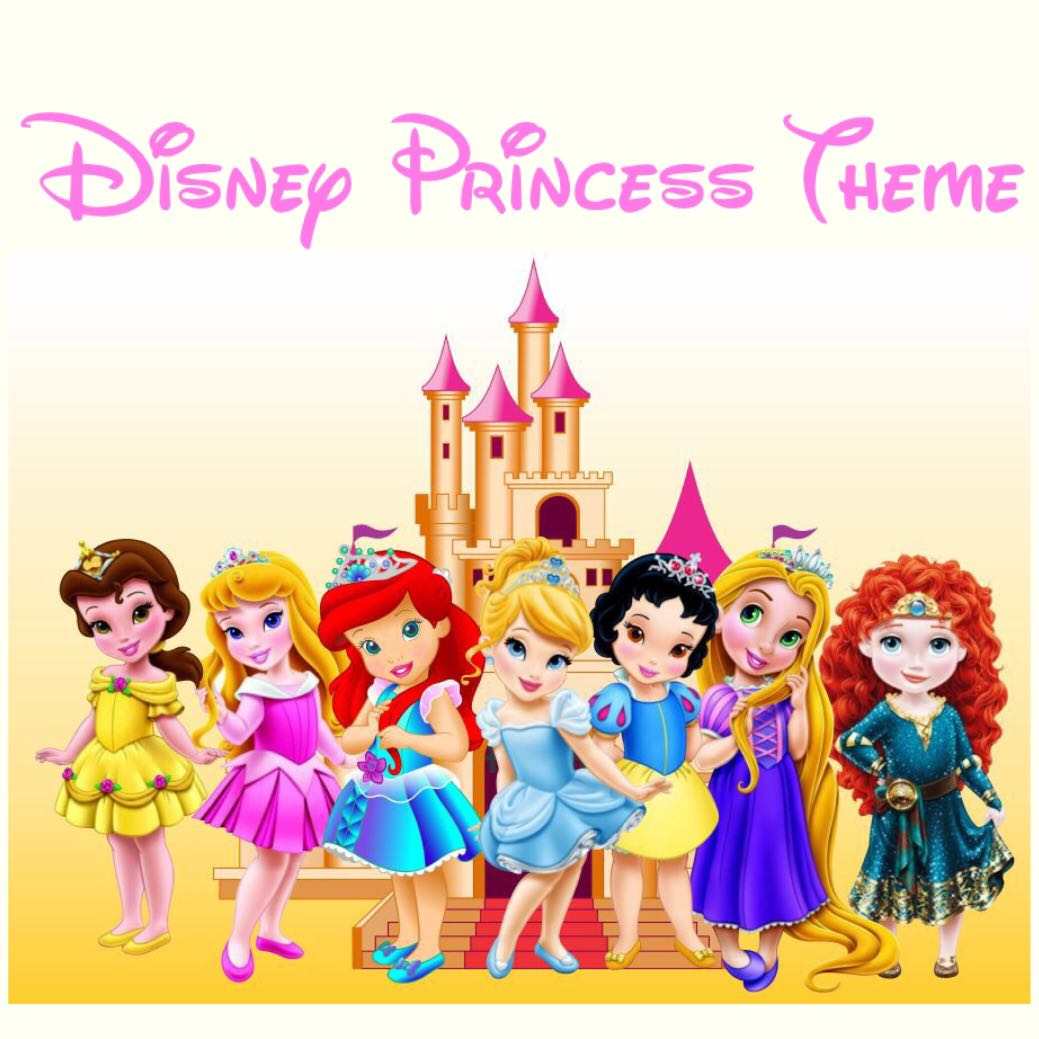 Disney Princess Theme Birthday Invitation Digital Card Babies Kids Toys Walkers On Carousell