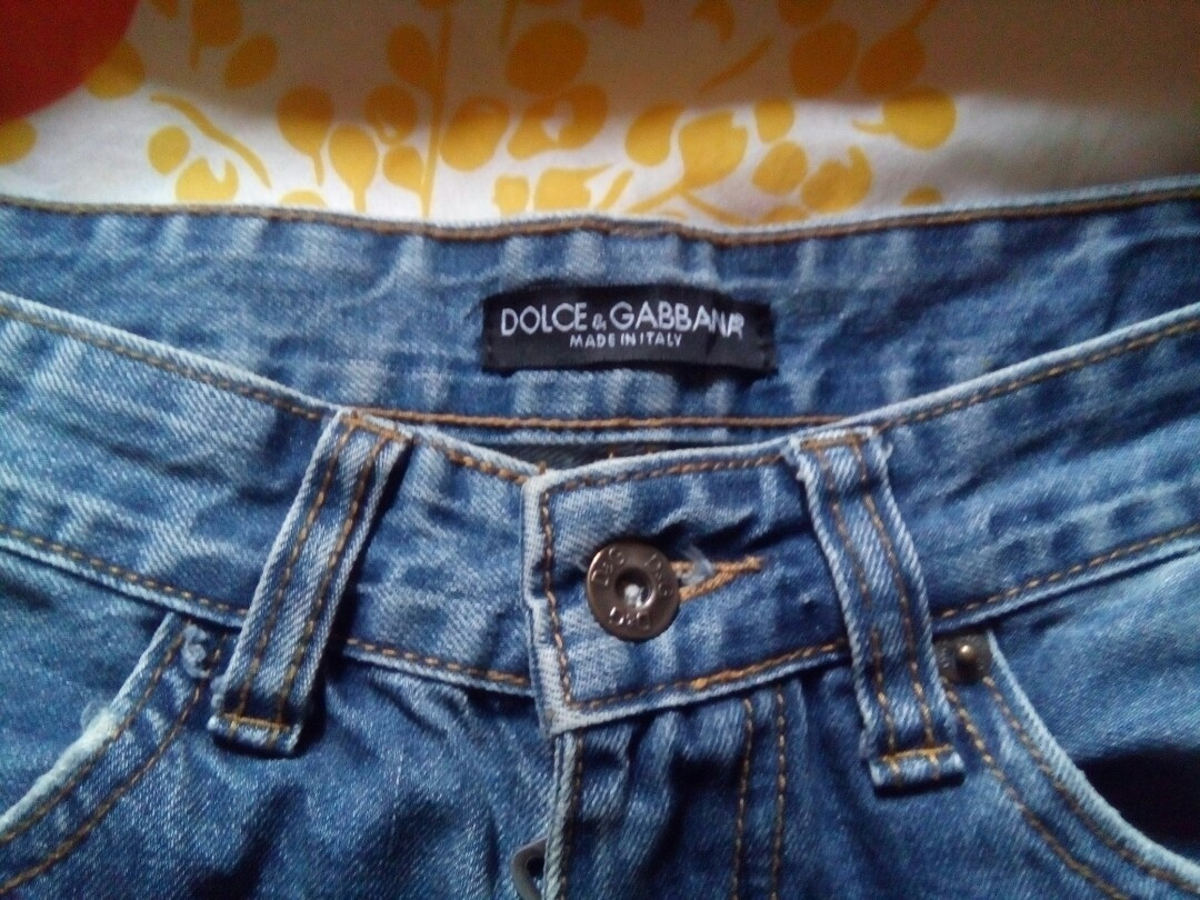 668d54c23596dc Dolce and Gabana D G pants 30 Slim, Men s Fashion, Clothes, Bottoms on  Carousell