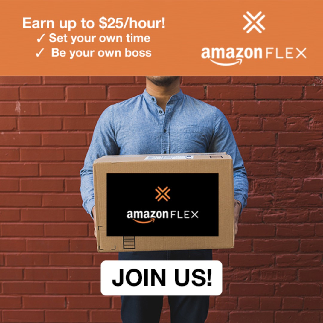 Earn up to $25 / hour Delivering for Amazon Flex now!