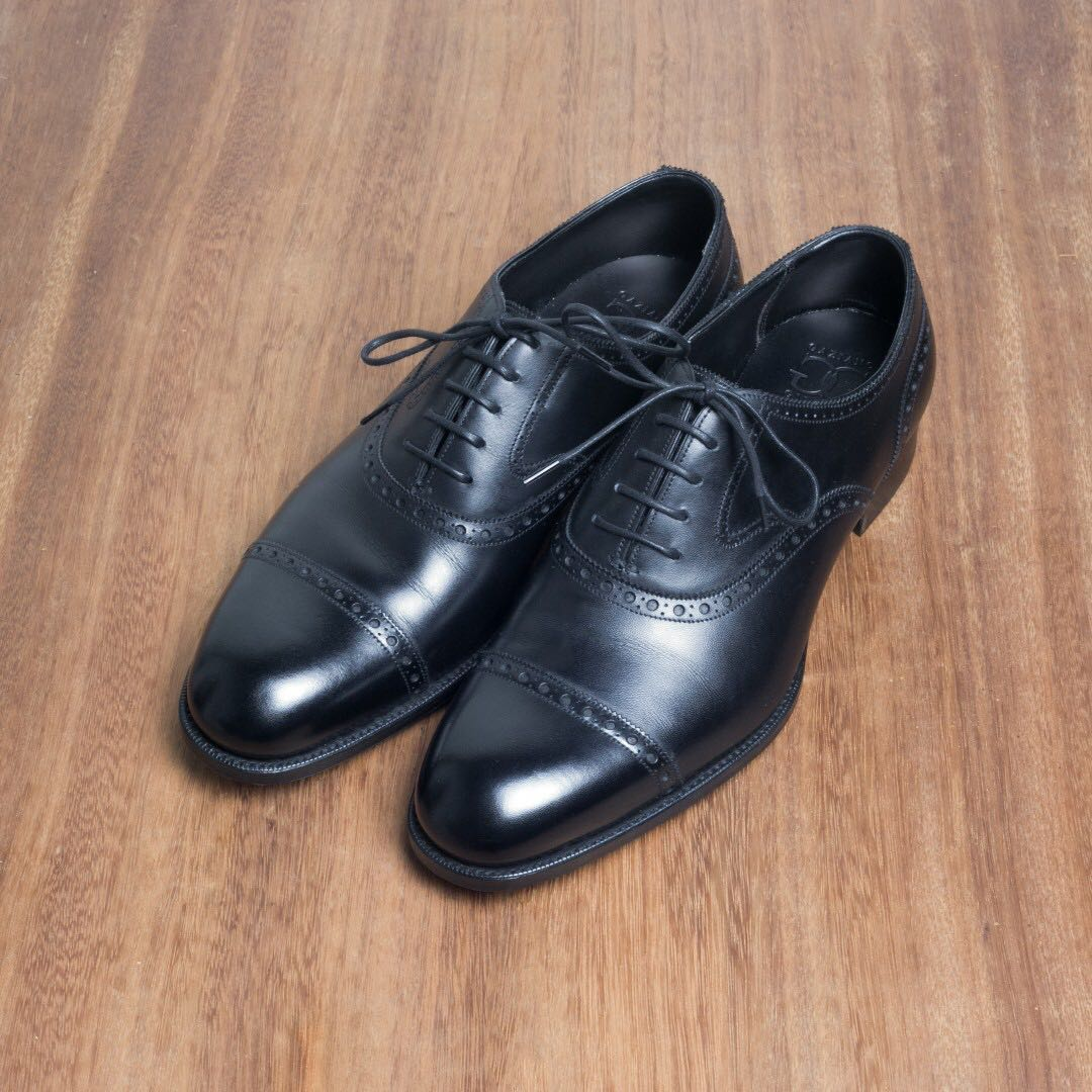 bc618b84e79 Gaziano Girling Harrow Black Oxford