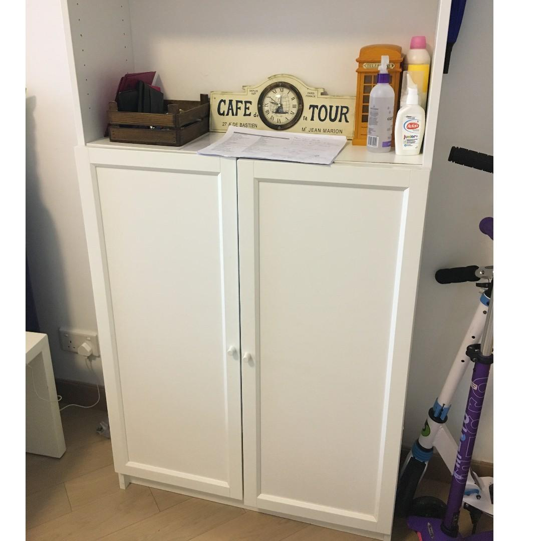Ikea Billy Bookcase Shoe Cabinet Home Furniture