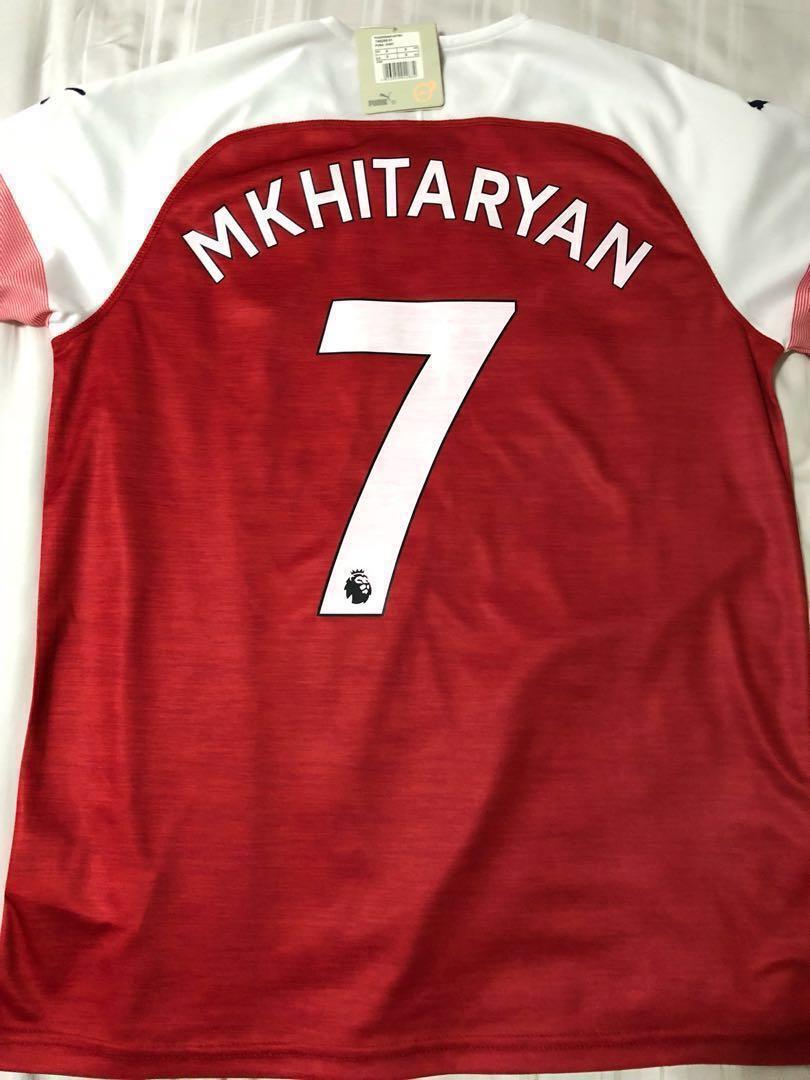 b6d72038500 In stock. Arsenal 2018 home jersey Mkhitaryan