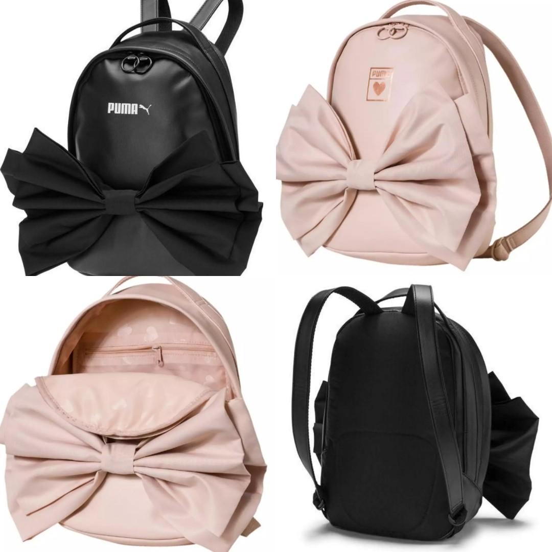 06d3455b7ca instock) Puma Backpack Prime Valentine Bag Bow Ribbon, Women s ...