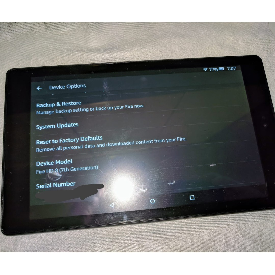Kindle Fire HD 8 7th Generation