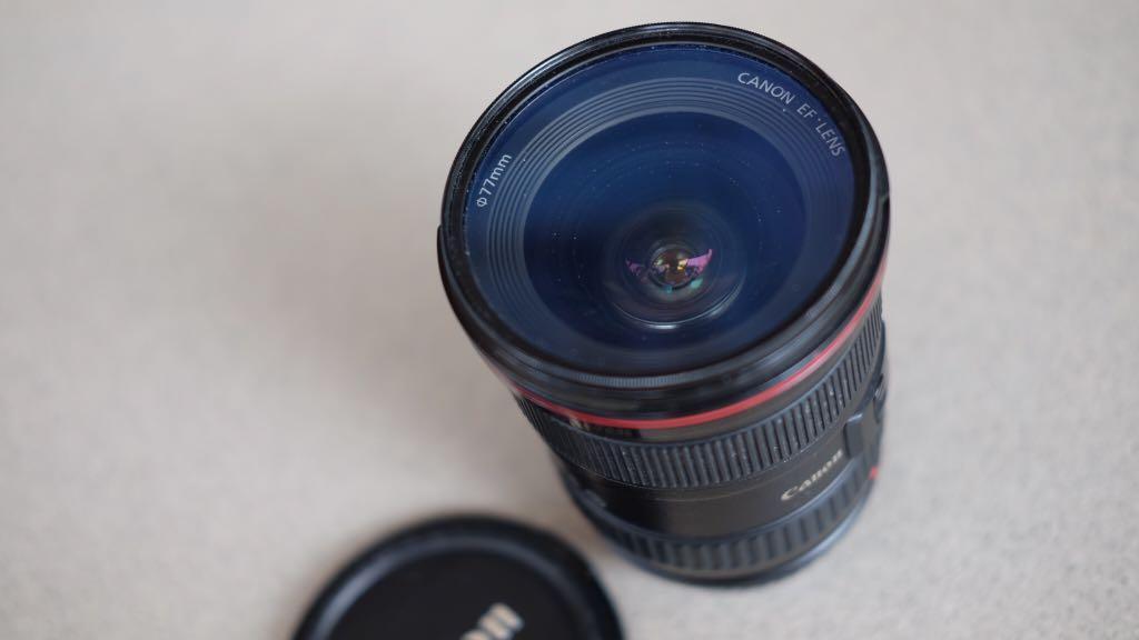 Lensa Canon EF 17-40mm F.4 L series USM