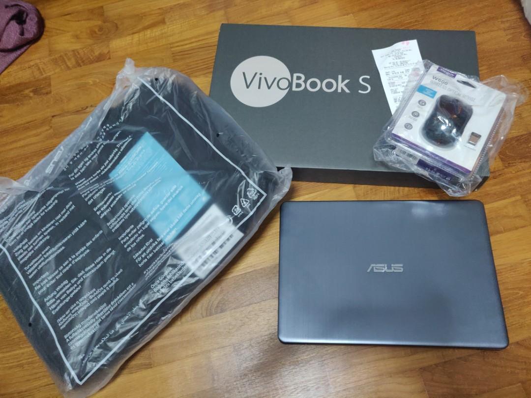 Mint Asus Vivobook S14 S411U - few days old, Electronics