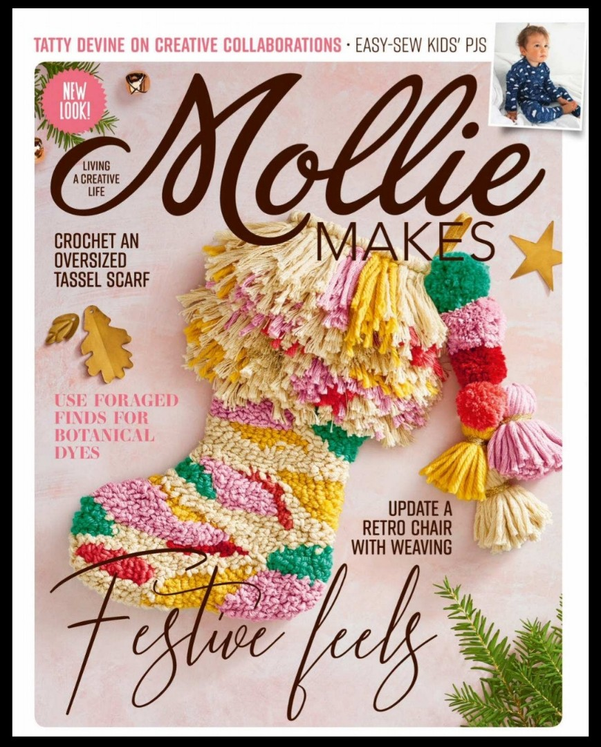Mollie Makes - 2018 | English | 108 pages | True PDF | 14 4 MB