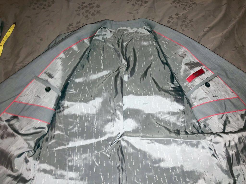 "fd853e9b NEW"" HUGO BOSS Suit M/L (Amaro/Heise) light-grey, Men's Fashion ..."