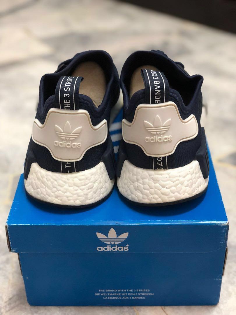 976691eda NMD R1 Navy Blue