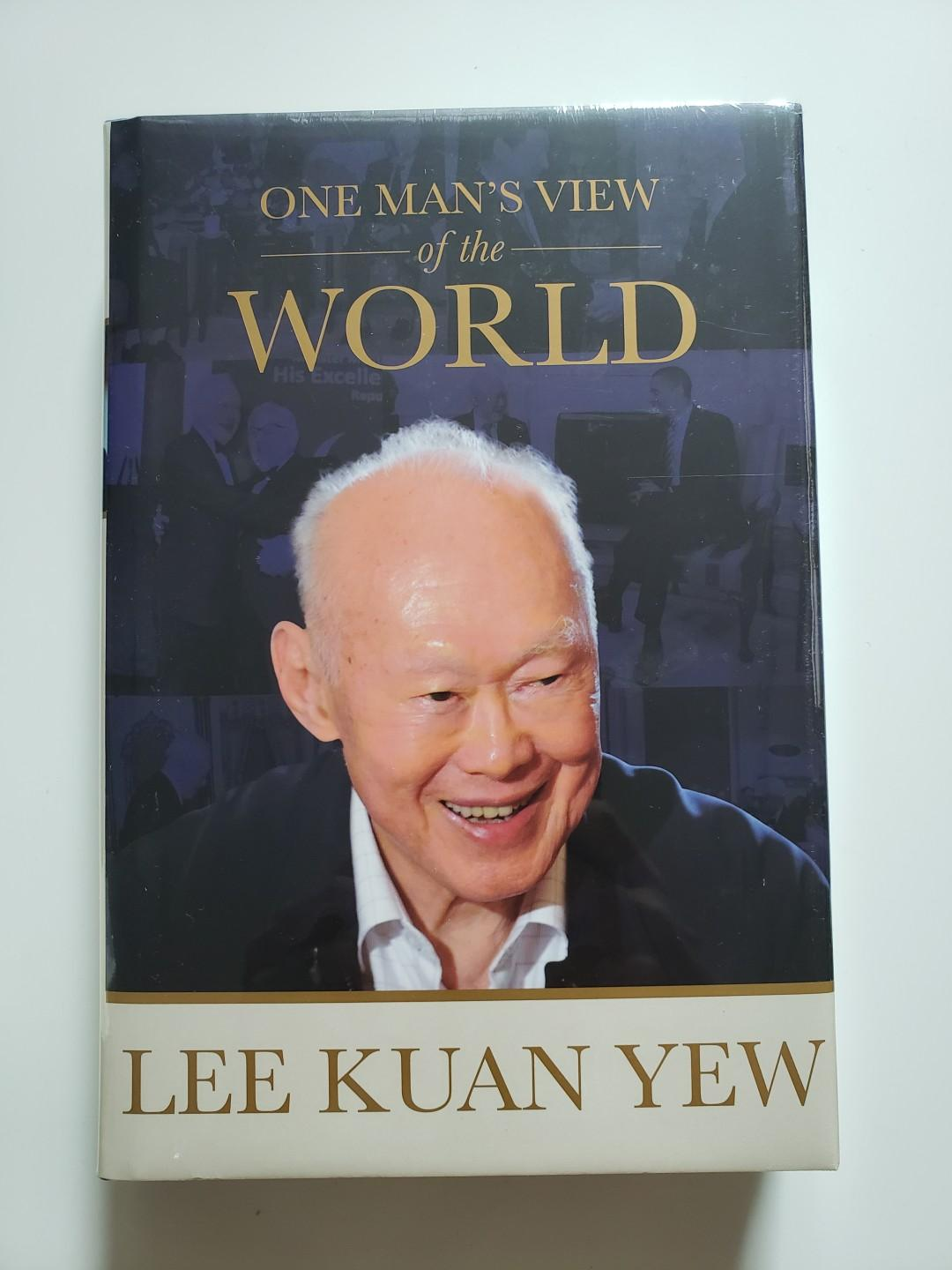 One Man's View of The World by Harry Lee Kuan Yew RARE