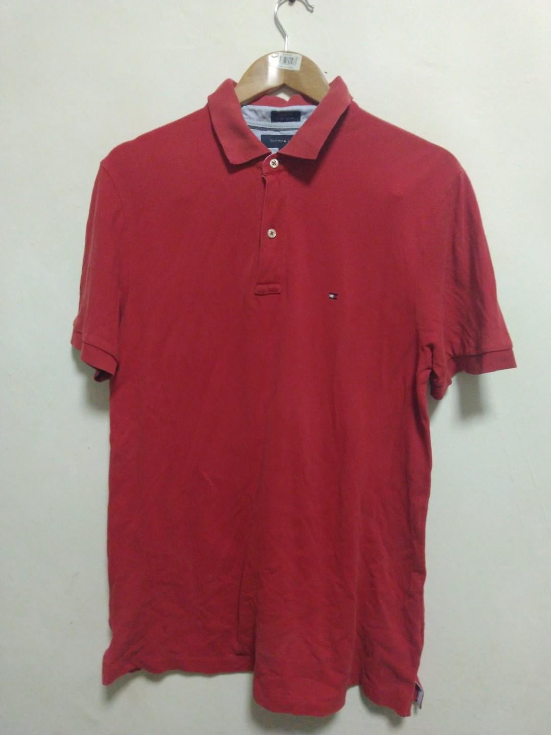 98fd9d7387d4 Polo Tommy Hilfiger Original, Men's Fashion, Men's Clothes, Tops on ...