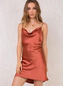 Princess Polly Betta Vanore Mini Dress Rust